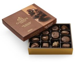 Godiva 15 Piece Milk Chocolate Assortment