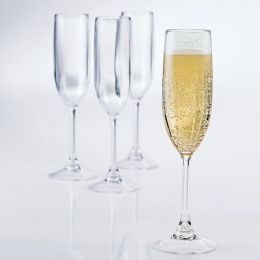 Break-Free PolyCarb Champagne Flutes - Set of 4