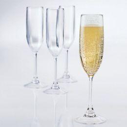 Break-Free PolyCarb Champagne Flutes - Set of 4