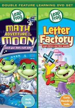 Leapfrog: Math Adventure to the Moon/Letter Factory