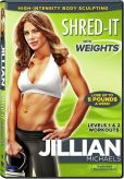 Video/DVD. Title: Jillian Michaels: Shred-It with Weights