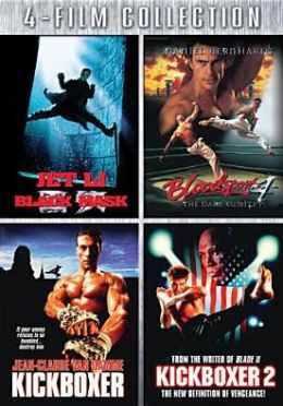 Black Mask/Bloodsport 4/Kickboxer/Kickboxer 2
