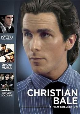 Christian Bale 3-Film Collection: American Psycho/3:10 to Yuma/Velvet Goldmine