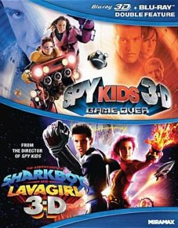 Spy Kids 3-d/Adventures of Shark Boy and Lava Girl