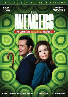 Avengers Emma Peel Megaset