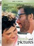Video/DVD. Title: Words and Pictures