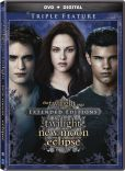 Video/DVD. Title: The Twilight Saga Extended Edition Triple Feature