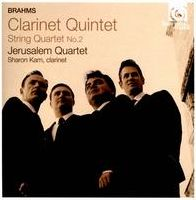 Brahms: Clarinet Quintet; String Quartet No. 2