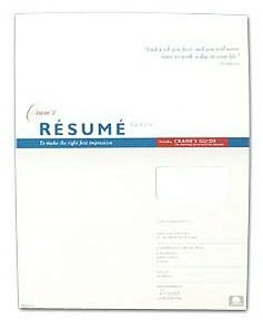 White Resume Sheets