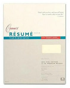 Ecru Resume Sheets