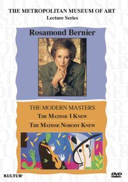 Rosamond Bernier: Matisse I Knew & Matisse Nobody