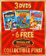 Bee Movie & Shark Tale & Chicken Run Giftset