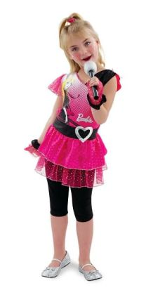 Rockin' Diva Barbie Toddler/Child Costume: Size Toddler (3T-4T)