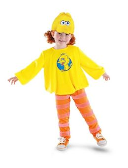 Big Bird Classic Toddler/Child Costume: Size 4-6X