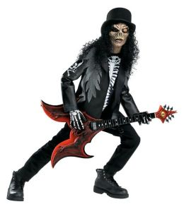 Cryptic Rocker Child Costume: Size Medium (7-8)