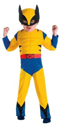 Wolverine Muscle Toddler Costume: Size Small (2T)