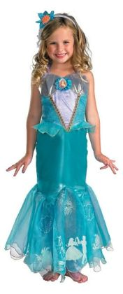Disney Princess Ariel Prestige Toddler/Child Costume: Size Toddler (3T- 4T)