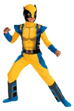 Wolverine Origins Classic Child Costume: Size Medium (7-8)