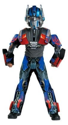 Transformers Optimus Prime Movie 3-D Deluxe Child Costume: Size Large (10-12)