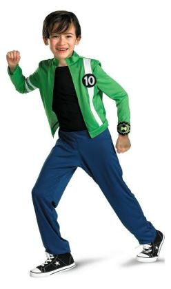 Ben 10 Alien Force Child Costume: Size Small (4-6)