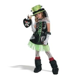 Monster Bride (Green) Child Costume: Size Large (10-12)