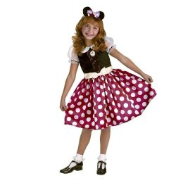 Minnie Mouse Toddler/Child Costume: Size Plus (10.5-12.5)
