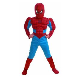 Spider-Man Comic Muscle Figure Child Costume: Size Medium (7-8)
