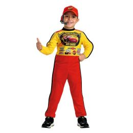 Cars Lightning McQueen Jumpsuit Child Costume: Size 4-6