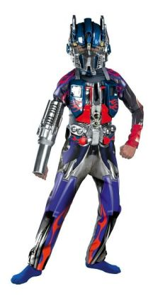 Transformers Optimus Prime Deluxe Child Costume: Size Large (10-12)