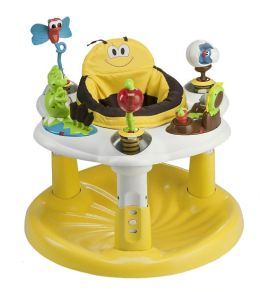 Evenflo ExerSaucer Bounce & Learn Active Learning Center - Bee