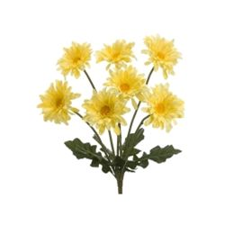 Allstate FBD607-YE 19 in. Yellow Garden Gerbera Daisy Bush X7- Case of 12