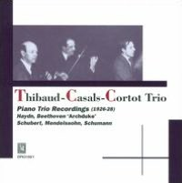 Piano Trio Recordings
