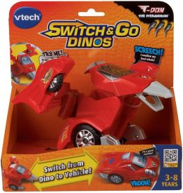 Switch & Go Dinos - T-Don the Pteranodon