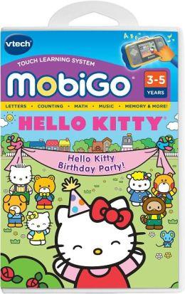 MobiGo Learning Software Cartridge, Hello Kitty