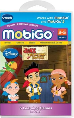 MobiGo Learning Software Cartridge, Jake & the Neverland Pirates