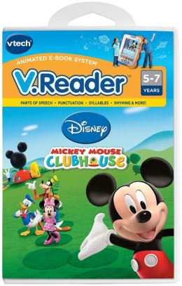 Vreader Animated Reading Book - Mickey Mouse Clubhouse