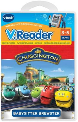 Vreader Animated Reading Book - Chugginton