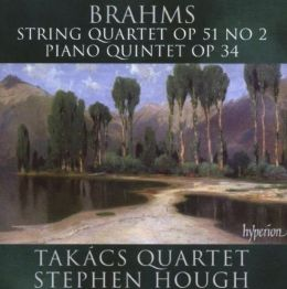 Brahms: String Quartet No. 2, Piano Quintet in F Minor