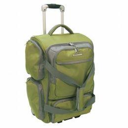 """Luggage America RD-9022-LM Olympia 22"""" 1680 D. Poly Ballistic Rolling Duffel"""