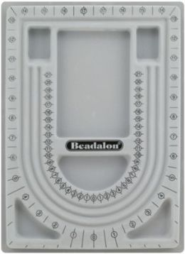 "Beadalon JBOARD34 34"" Bead Board from Plastic - Gray"