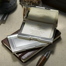 Art-Deco Marv Business Card Case