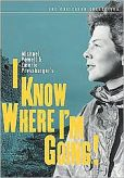 Video/DVD. Title: I Know Where I'm Going!