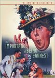 Video/DVD. Title: The Importance of Being Earnest