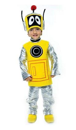 Yo Gabba Gabba Plex Toddler Costume: Size Toddler (2T)