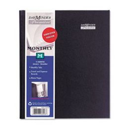 At-A-Glance G400H00 Premiire Large Desk Monthly Planner 6-7/8 x 8-3/4 Black