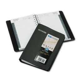 At-A-Glance 7080005 Daily Appointment Book 4-7/8 x 8 Black