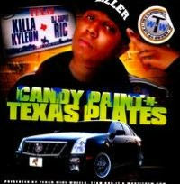Candy Paint N Texas Plates