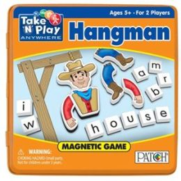 Take 'N' Play Hangman Magnetic Game