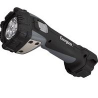 4-AA LED FLASHLIGHT W/BATTERIE