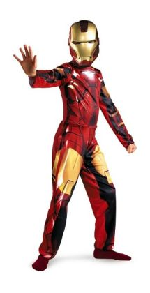 Iron Man 2 (2010) Movie - Mark VI Classic Child Costume: Size Medium (7-8)